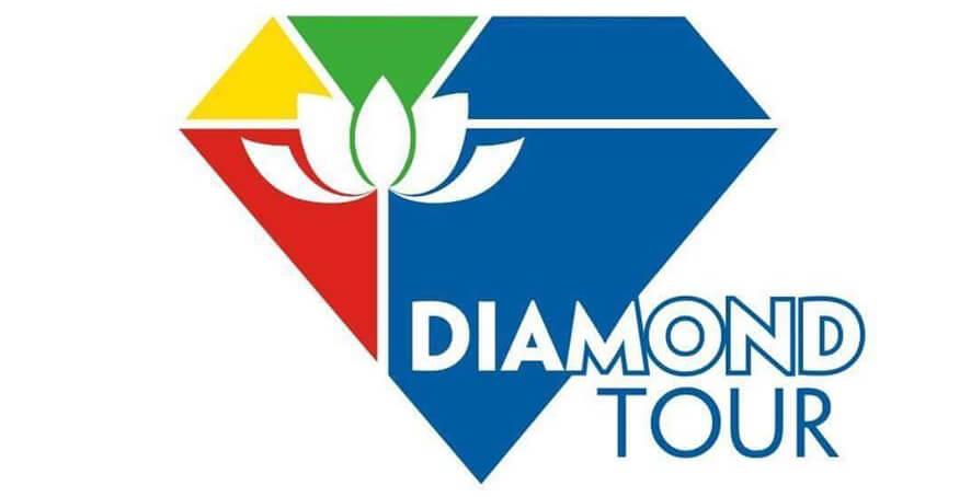 Logo công ty du lịch Diamond Tour